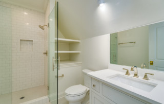 Custom bathroom interior